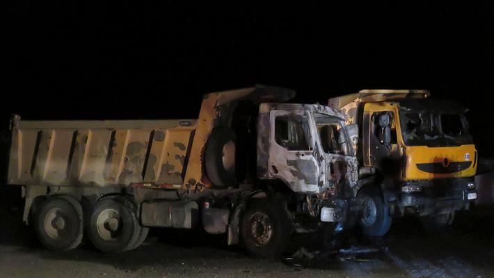 Gremio cifra en 231 los camiones quemados desde 2015 a la fecha