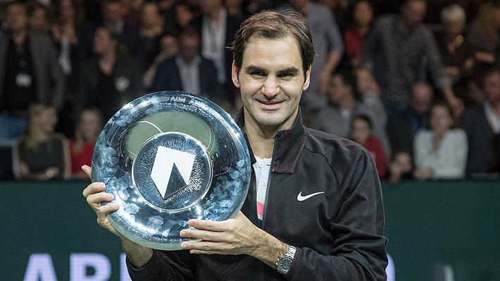 El impresionante registro de Roger Federer desde su grave lesión en 2016 y que hoy lo tiene como número uno del mundo