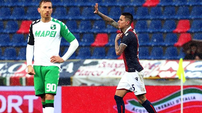 Mira el impecable gol de tiro libre con que Erick Pulgar le dio el triunfo al Bologna en el Calcio