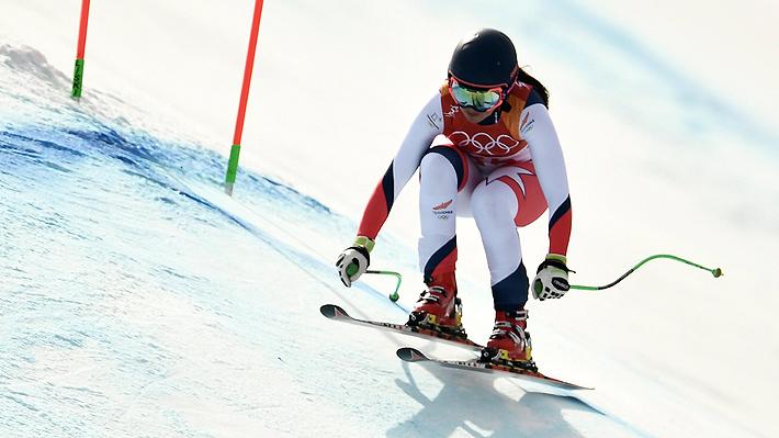 La chilena Noelle Barahona cosechó su mejor resultado histórico en los JJ.OO. de Invierno