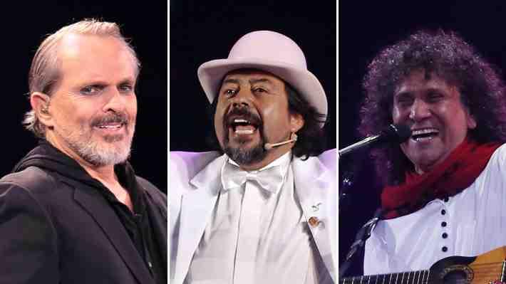Miguel Bosé, Bombo Fica e Illapu: Evalúa y comenta aquí los shows de la noche inaugural de Viña 2018
