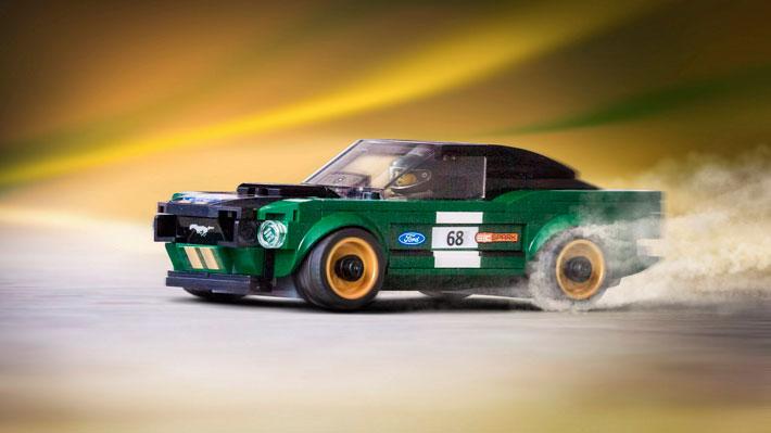 El histórico Mustang Fastback 1968 vuelve en forma de Lego