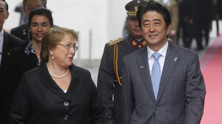 Presidenta Bachelet llega a Japón para iniciar la última gira internacional de su mandato