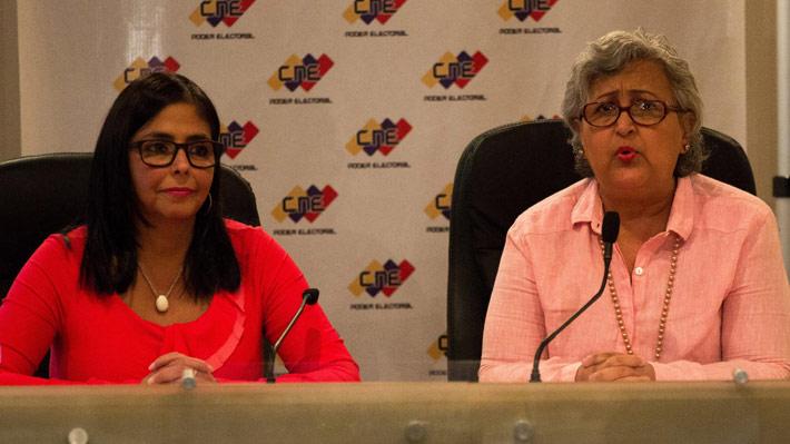 Consejo electoral de Venezuela descarta realizar elecciones presidenciales y legislativas el mismo día