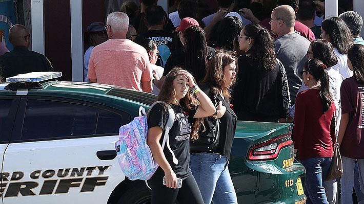 Tiroteo en Parkland: Estudiantes regresan a la escuela en donde ocurrió la matanza