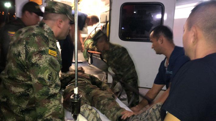 Cinco militares mueren y 10 resultan heridos en ataque atribuido al ELN en Colombia