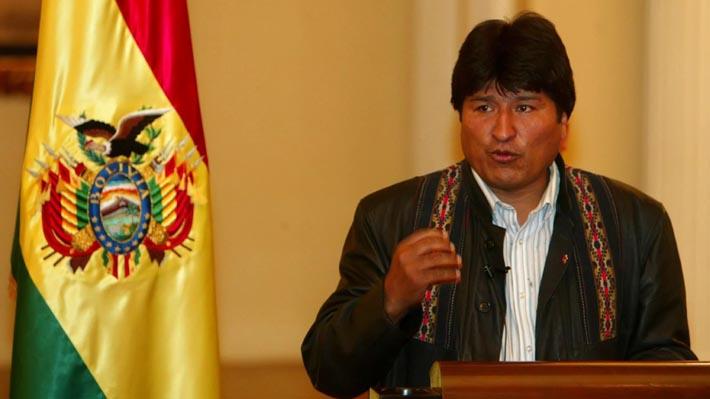 """Evo Morales por demanda marítima: """"Los chilenos ya no nos miran de arriba, están asustados"""""""