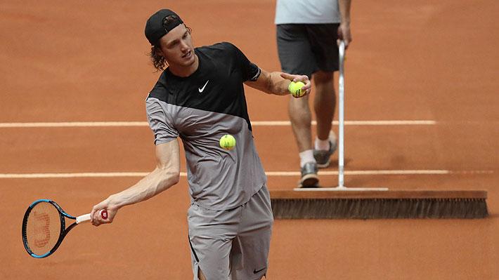 Nicolás Jarry luchó hasta el final, pero terminó cayendo ante el italiano Fabio Fognini en su primera final de un torneo ATP