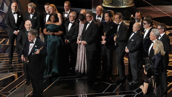 """""""La forma del agua"""" se queda con el Oscar a Mejor Película y Frances McDormand se consagra en la categoría Mejor Actriz"""