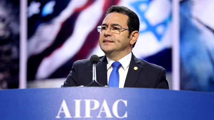 Guatemala anuncia que trasladará su embajada a Jerusalén en mayo