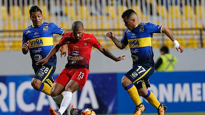 Everton derrota a Caracas de visita, pero no le alcanza y queda eliminado de la Copa Sudamericana