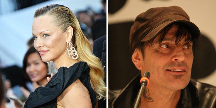 Hijo mayor de Pamela Anderson es denunciado por golpear a su padre