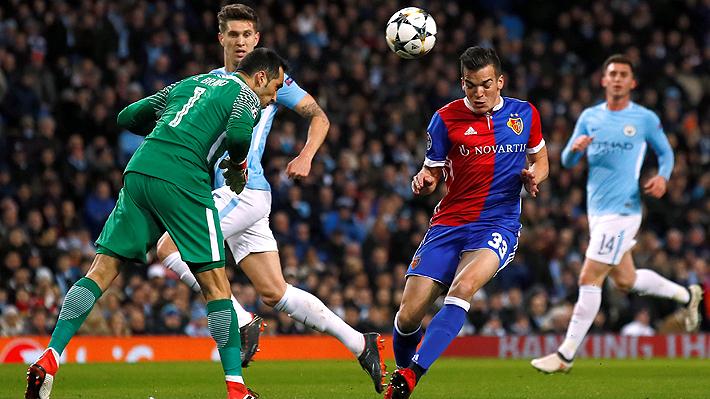 Revive la derrota del City de Claudio Bravo ante el Basilea