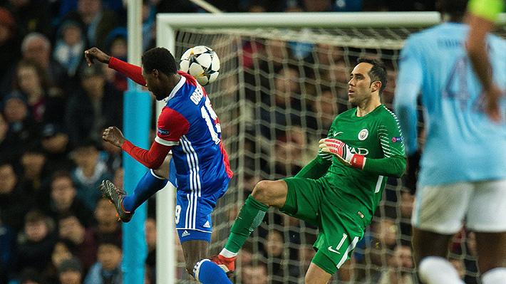 """""""Brillante, una muestra de clase"""": La notable y arriesgada jugada de Claudio Bravo en la Champions"""