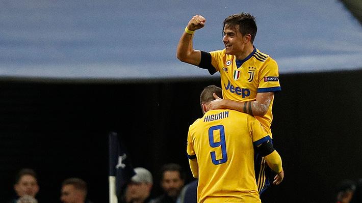 Con goles de Higuaín y Dybala, la Juventus remonta un emocionante partido ante Tottenham y avanza en la Champions