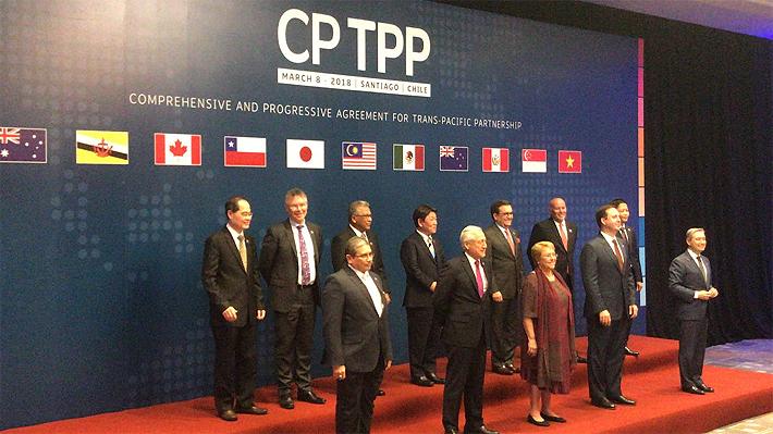 Histórico acuerdo: Chile firma junto a otros 10 países el tercer mayor pacto económico del mundo