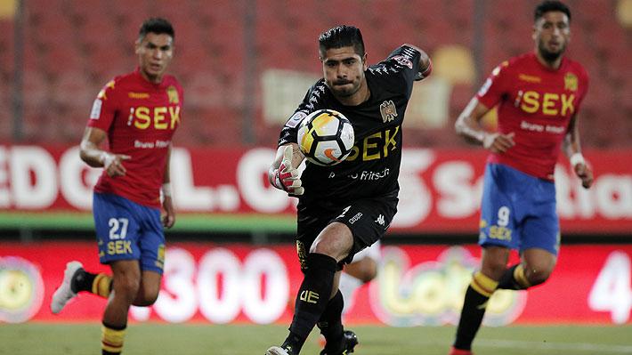 ¿Pudo hacer algo más? La floja reacción de Diego Sánchez en el primer gol que recibió Unión en la Sudamericana