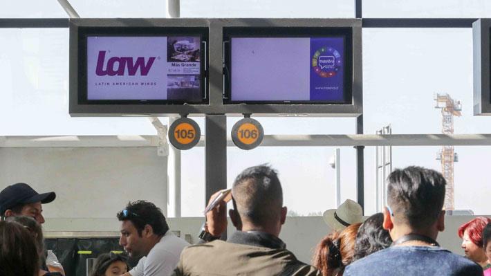 """LAW suspende todas sus operaciones y venta de pasajes por """"proceso de reorganización"""""""