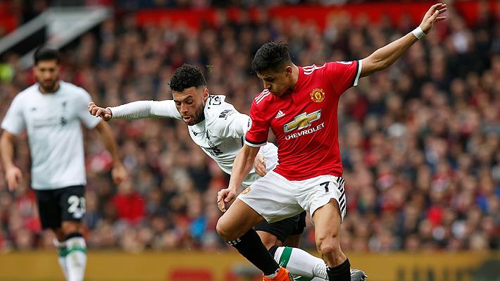El United gana al Liverpool y se consolida en el subliderato, pero Alexis sigue sin brillar y extiende su sequía goleadora