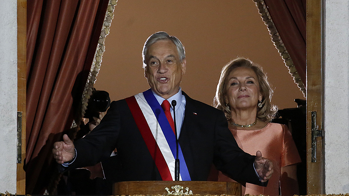 Piñera propone cinco grandes acuerdos nacionales en el inicio de su segundo mandato
