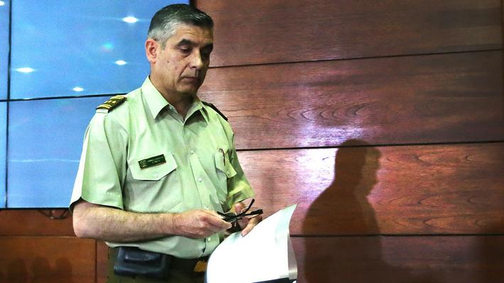 General Blu renunció y es la segunda baja del alto mando de Carabineros: dejó el cargo el viernes