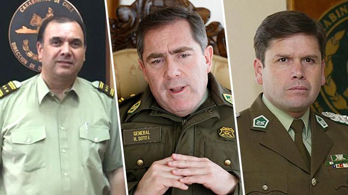 Alto mando de Carabineros: Los tres generales que podrían encabezar la golpeada institución