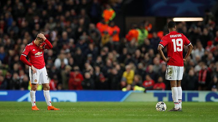 Las imágenes de la frustración y el dolor de Alexis por la eliminación del United en la Champions