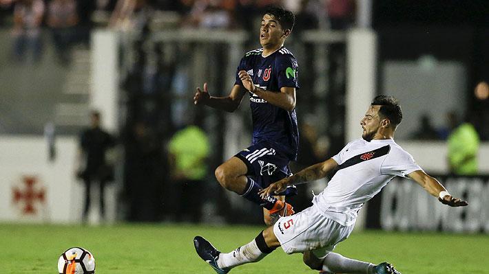 Mira la tapada clave de Johnny Herrera y el gol que le dio a la U el triunfo sobre Vasco en la Libertadores