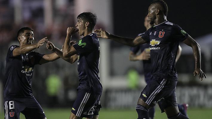 """La emoción de Ángelo Araos, el héroe de la U ante Vasco: """"Debutar así en la Libertadores es inexplicable"""""""