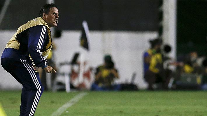 """Hoyos llama a la calma luego del triunfo en Brasil y le desea lo """"mejor"""" a Colo Colo en esta Libertadores"""
