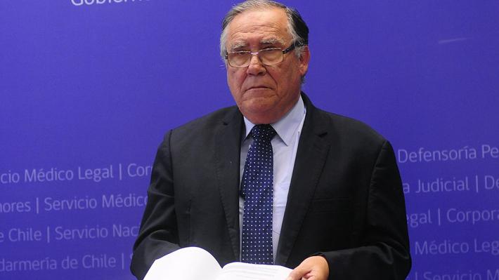 """Comisión Valech III, el otro """"No"""" del ex ministro Jaime Campos en el gobierno de Bachelet"""