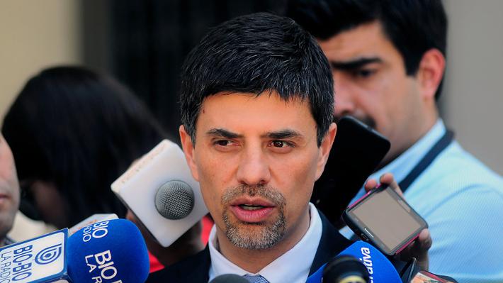 """Diputado Marcelo Díaz a Jaime Campos: """"Un ex ministro tiene que aprender a guardar silencio"""""""