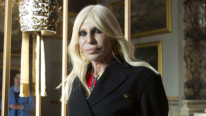 """Donatella Versace dejará las pieles en sus diseños: """"No quiero matar animales para hacer moda"""""""
