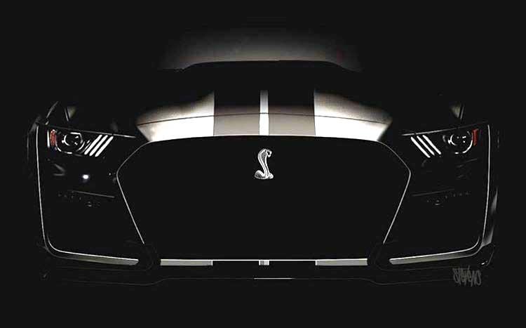 ¡Atención fanáticos! Ford revela cómo será el frente del nuevo Shelby GT500