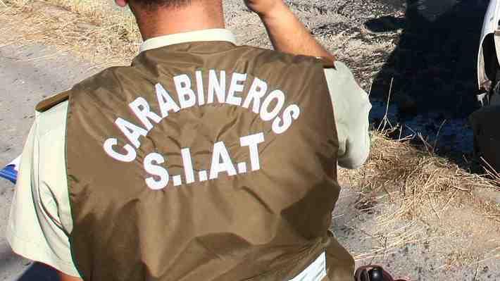 Tres ocupantes de un Uber y un suboficial mueren en accidente camino a Melipilla