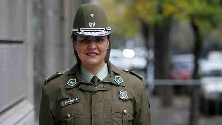 Pamela Olivares, la primera mujer que podría ser general director de Carabineros. ¿Cómo lo ves?
