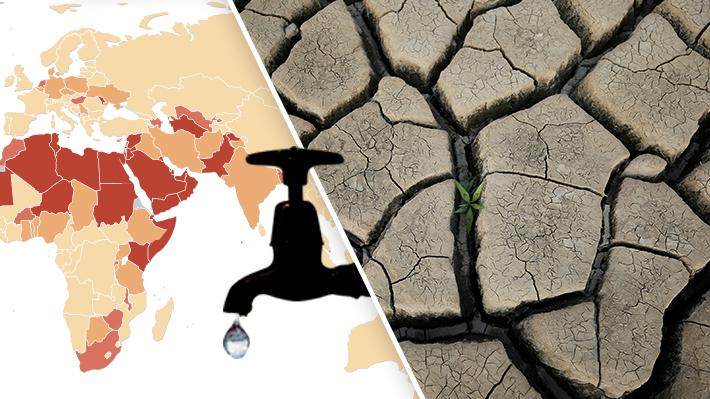 Cuáles son los países que presentan mayor escasez de agua en el mundo