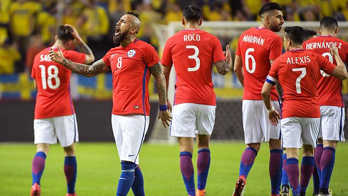 Chile celebra en el inicio de la era Rueda: Con gol de Bolados en el epílogo venció a Suecia en Estocolmo