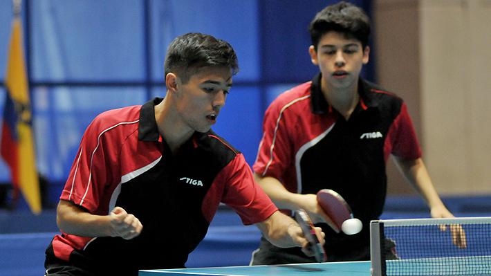 1fe268436 Chile ganó sólo un oro y terminó cuarto en Sudamericano Infantil y Juvenil de  Tenis de Mesa