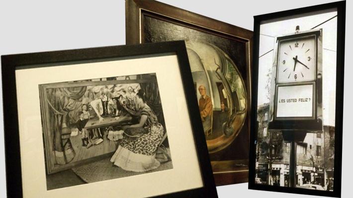 Obras de Frida Kahlo y otros cien referentes del arte latinoamericano se exponen en el Centro Cultural La Moneda
