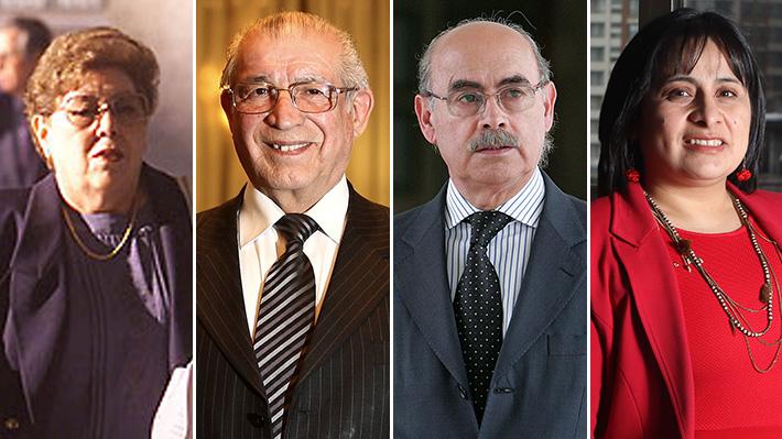 Los cuatro jueces que han llevado la causa de Jorge Matute Johns en los 18 años de investigación
