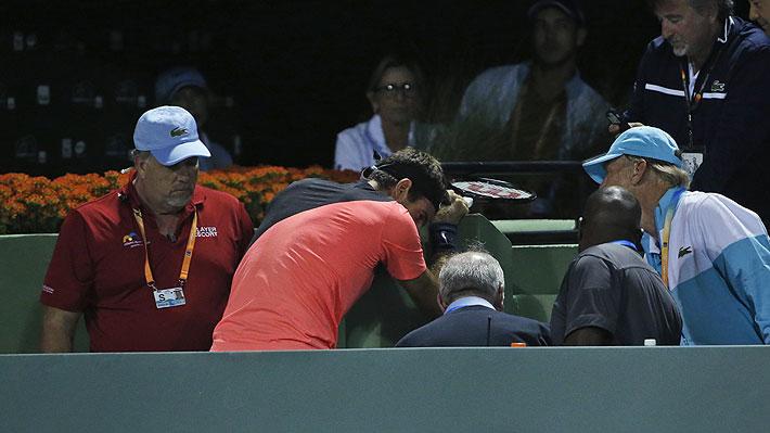 """""""Actúa como si estuviese lesionado, es un maestro en esto"""": La fuerte acusación contra Del Potro en el Masters 1000 de Miami"""