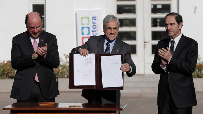 """Acuerdo por la infancia: Piñera asegura que """"es difícil"""" comprender críticas y pide al """"PC y al PS que recapaciten"""""""