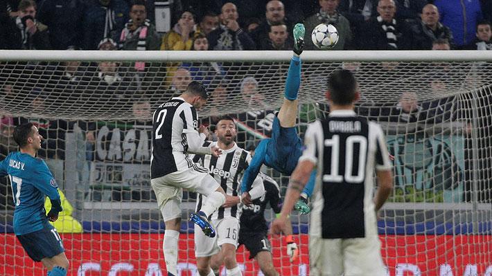 El golazo de Cristiano Ronaldo ante la Juventus en el triunfo que dejó al Real Madrid muy cerca de las semis de Champions