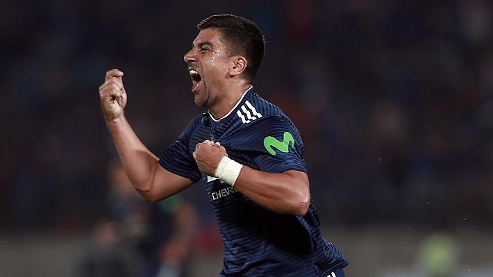 Mira la gran definición de David Pizarro y el empate que logró Racing en el duelo por la Libertadores