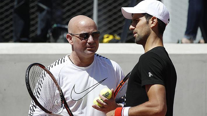 Djokovic toma drásticas decisiones en su carrera, una de ellas romper su vínculo con Agassi
