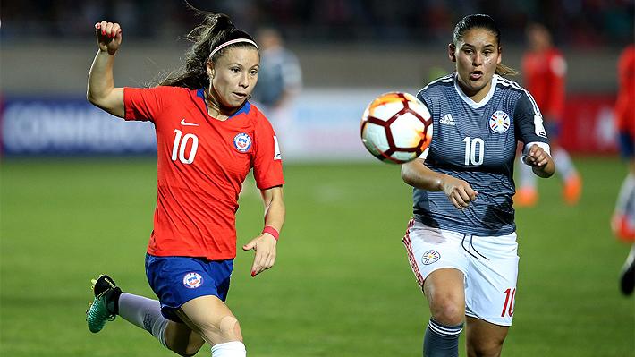 """La """"Roja"""" fue superior, pero terminó empatando con Paraguay en su debut por la Copa América Femenina"""