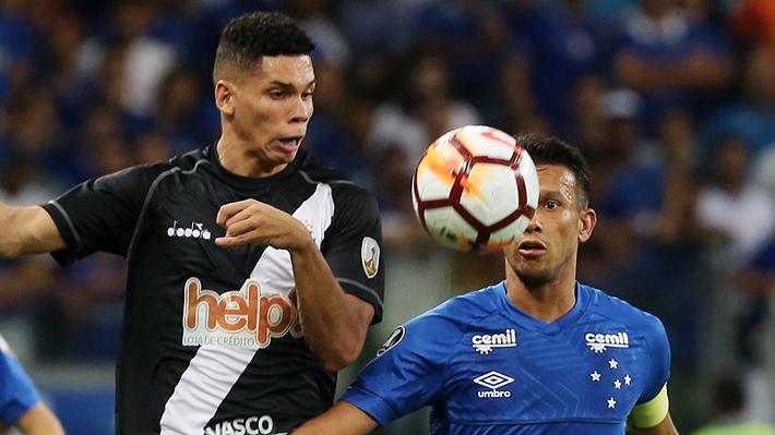 La cruda lesión que sufrió Paulinho en el duelo ante Cruzeiro, en el grupo de la U por la Libertadores