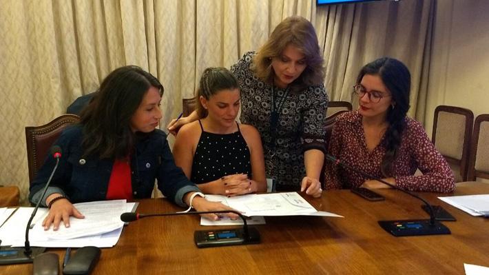 Diputadas del FA, PC y PPD crean mesa de seguridad ciudadana paralela a la convocada por Piñera