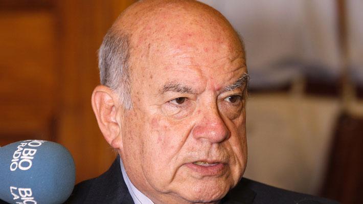 "Senador Insulza por comisión de seguridad: ""Deberíamos haber ido"""